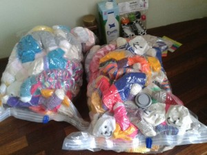 Gifts for Syrian refugee children